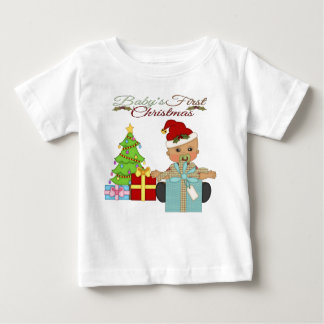 Baby Boy's 1st Christmas Infant T-Shirt