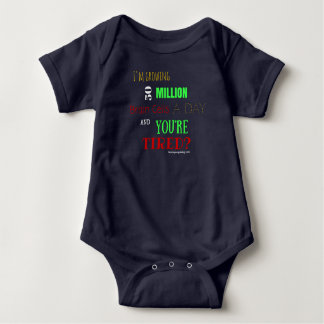 Baby Brain Cells Baby Bodysuit