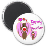 "Baby Brother ""I Love My Baby Brother"" Magnet"
