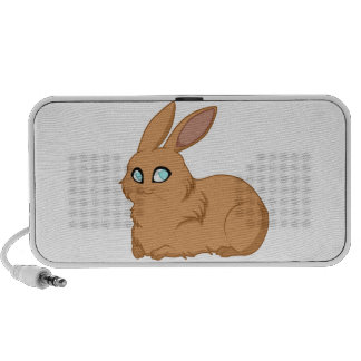 Baby Brown Bunny Portable Speakers