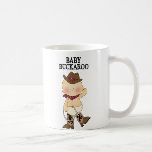 Baby Buckaroo Western Coffee Cup Classic White Coffee Mug