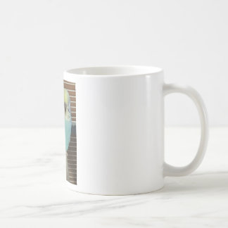 Baby budgie coffee mug