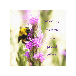 Baby Bumblebee part 2 Canvas Print