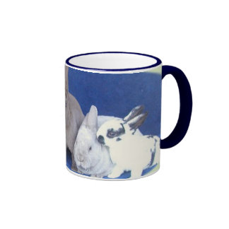 Baby Bunnies Ringer Mug