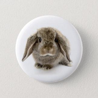 Baby Bunny 6 Cm Round Badge