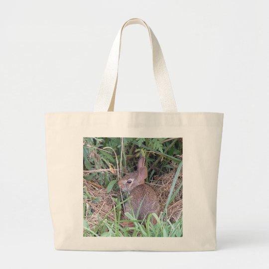 Baby Bunny Carry-all Large Tote Bag