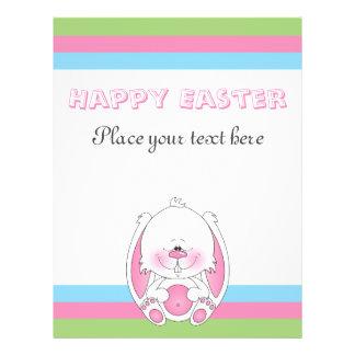 Baby Bunny Cartoon 21.5 Cm X 28 Cm Flyer