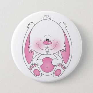 Baby Bunny Cartoon 7.5 Cm Round Badge