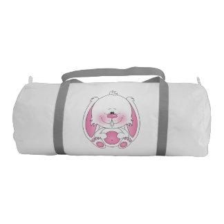 Baby Bunny Cartoon Gym Duffel Bag