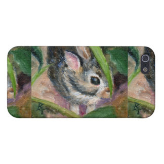 Baby Bunny Hiding Cover For iPhone 5/5S