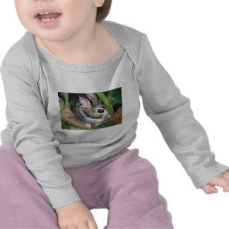 Baby Bunny Hiding Tee Shirt