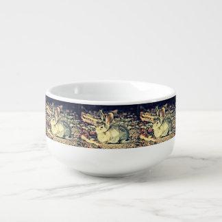 Baby Bunny In Yellow Soup Mug