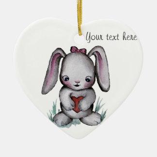Baby Bunny Ornament
