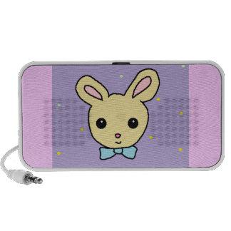 Baby Bunny Purple Travel Speakers