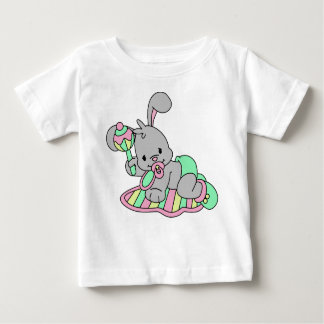 Baby Bunny with rattle Baby T-Shirt