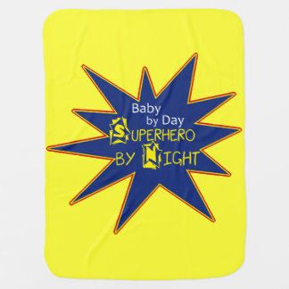 Baby By Day Superhero By Night Blanket