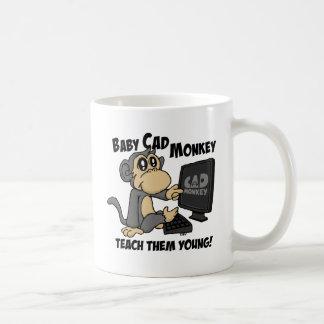 """Baby CAD Monkey """"Teach Them Young"""" Mug"""