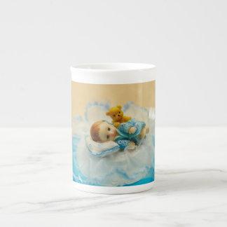 Baby cake topper bone china mugs