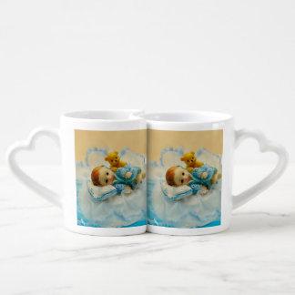 Baby cake topper lovers mug