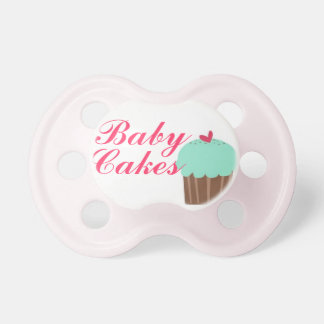"""Baby Cakes"" Baby Girl Pacifier"