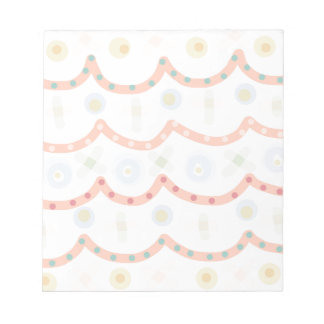 Baby Cakes. Sweet pastel colourful pattern Notepad