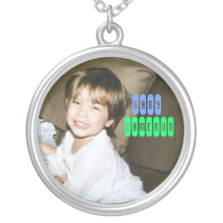 baby cameron quiseng silver plated necklace