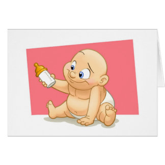 Baby Card (Blank Inside)