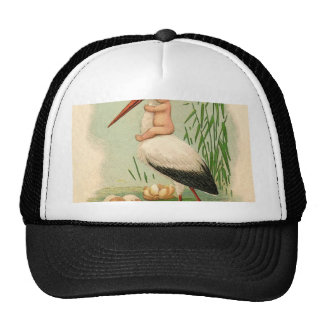 BABY CARD READY FOR DELIVERY 2.jpg Trucker Hat