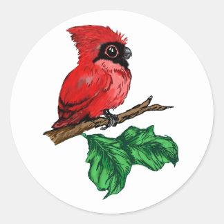 Baby Cardinal Stickers