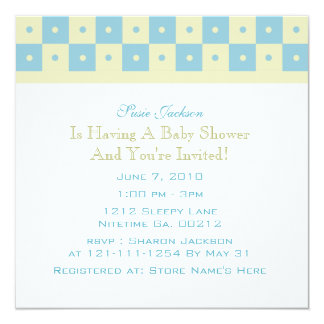 Baby Carriage Baby Shower Invitations