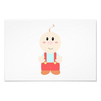 Baby cartoon photograph