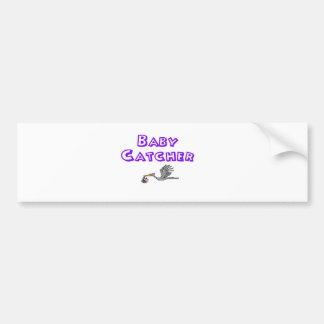 baby catcher bumper sticker