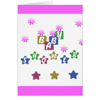 BABY CELEBRATION ! GREETING CARD