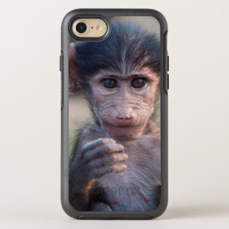 Baby Chacma Baboon (Southern Africa) OtterBox Symmetry iPhone 7 Case