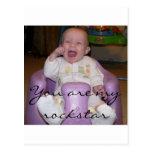 Baby Cheering Postcard