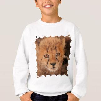 Baby Cheetah Children's Sweatshirt