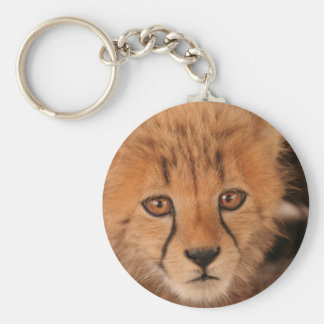 Baby Cheetah Keychain