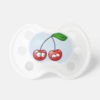 Baby Cherry Binky Passifyer Blue Gift  Holiday Fun Dummy