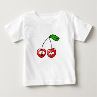 Baby Cherry Clothes Gift Tshits Holiday Fun Colors Baby T-Shirt