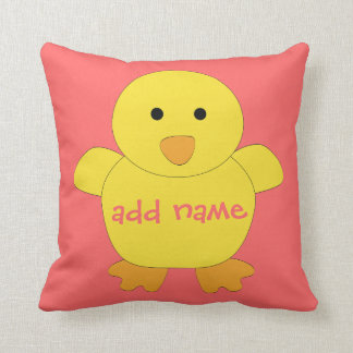 Baby Chick American MoJo Pillow Throw Cushions