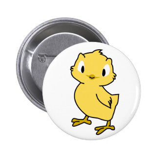 Baby Chick Pinback Button