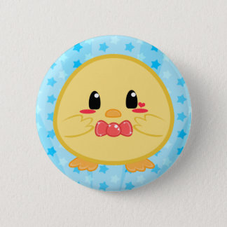 Baby Chick - Boy Button