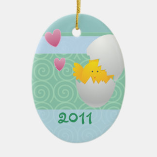 Baby Chick/ Photo Christmas Ornament