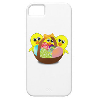Baby Chicks and Easter Eggs iPhone 5 Cover