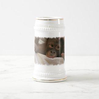 Baby Chimp Beer Stein