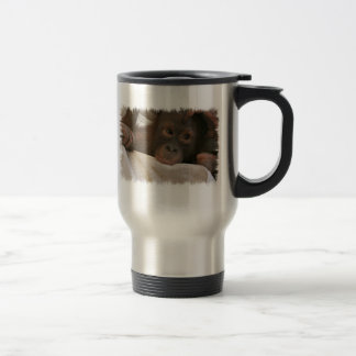 Baby Chimp Stainless Travel Mug