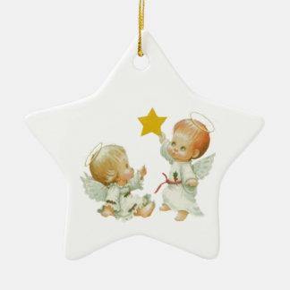 Baby Christmas Angels Christmas Ornament