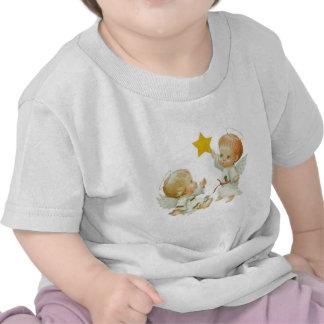 Baby Christmas Angels Tee Shirt