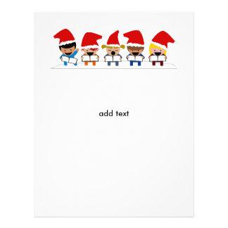 Baby Christmas Carolers 21.5 Cm X 28 Cm Flyer