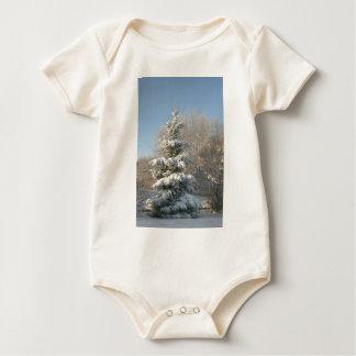 Baby Christmas Tree Baby Bodysuit